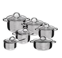 Набор посуды Edenberg EB-4013 кастрюли сотейник и ковш из 6 предметов, фото 1