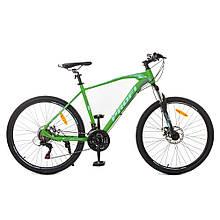 Велосипед Profi Зелено-черный G24VELOCITY A24.1 / 24 Д