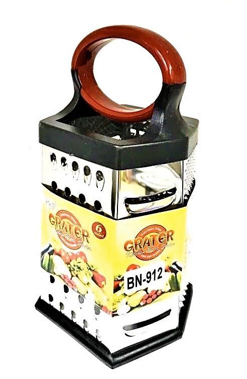 Тёрка Benson BN-912 из нержавеющей стали 6 сторон | шинковка | кухонная терка из нержавейки Бенсон, Бэнсон