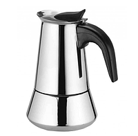 Гейзерная кофеварка Frico FRU-179 из нержавеющей стали на 9 чашек | турка Фрисо, фото 1
