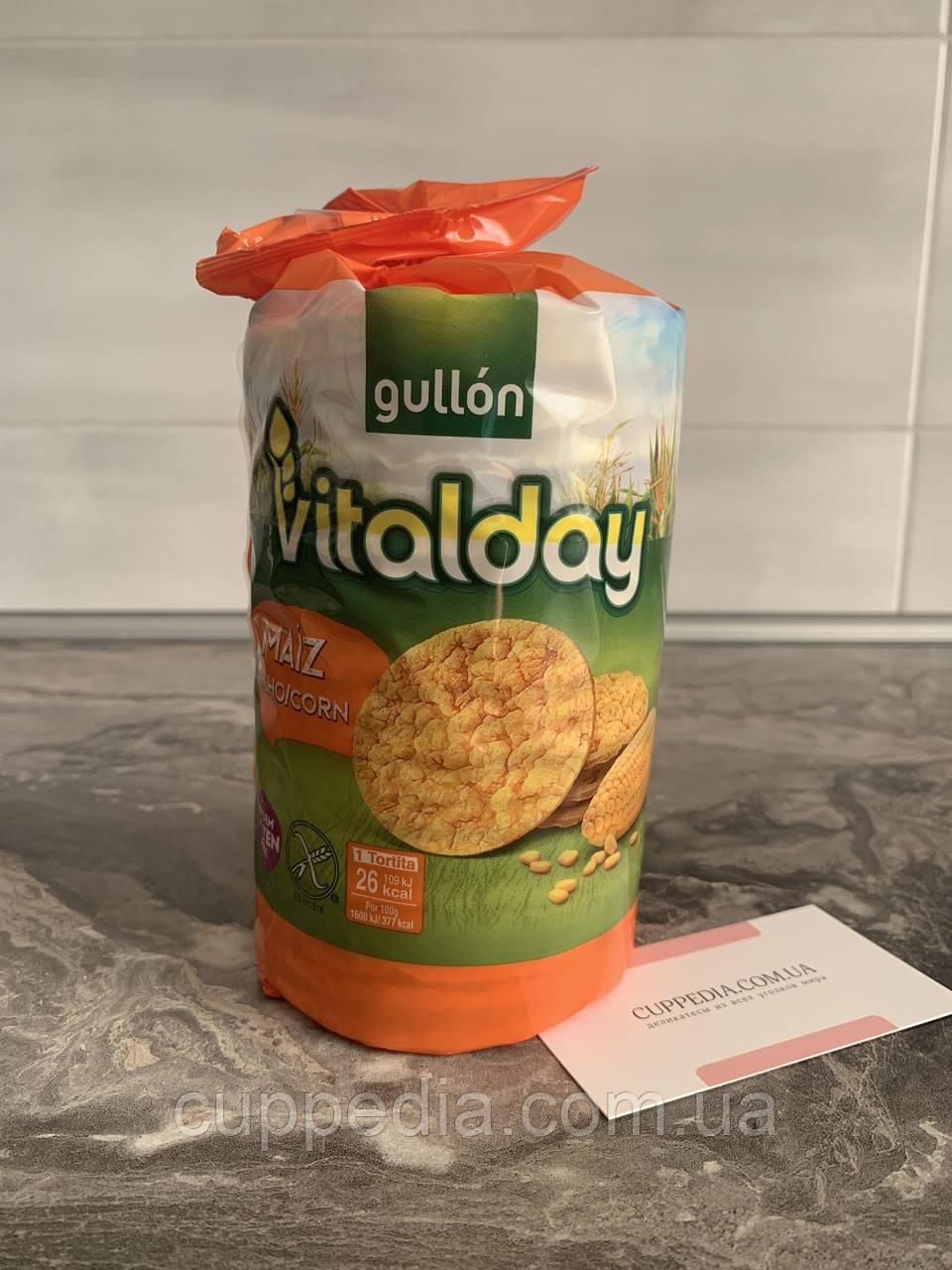 Кукурудзяні хлібці Gullon Maiz milho/corn без глютену 130 грм