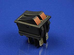 Сетевая кнопка масленного обогревателя универсальная двойная 4 контакта SETEL
