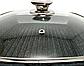 Сковорідка зі зйомною ручкою Benson BN-314 (мармурове покриття)   сковорідка Бенсон, сковорода з кришкою, фото 3