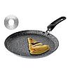 Сковорода блинная Edenberg EB-3396 с антипригарным мраморным покрытием 24 см индукционное дно