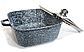 Набор посуды Benson BN-326 (6 предметов) гранитное покрытие   кастрюля с крышкой   кастрюли   сковорода Бенсон, фото 4