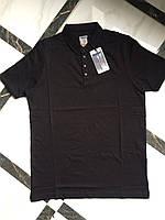 Мужская однотонная футболка поло фирмы Bagarda.Производство Турция.Отличное качество