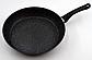 Сковорода с антипригарным мраморным покрытием с крышкой Benson BN-342 (28 см) | сковородка Бенсон, фото 4