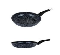 Сковорода Edenberg EB-4126 з антипригарним гранітним покриттям 28 см, фото 1