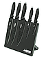 Набір ножів Benson BN-409 з нержавіючої сталі на магнітній підставці (5 пр)   кухонний ніж   ножі Бенсон, фото 5
