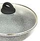 Сковорода Benson BN-494 (24 см) с крышкой, антипригарное гранитное покрытие | сковородка Бенсон, фото 4