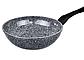 Сковорода литая WOK Benson BN-496 (28 см) с антипригарным гранитным покрытием   сковородка вок Бенсон, Бэнсон, фото 3
