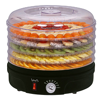 Сушилка для овощей и фруктов VINIS VFD-361B электрическая | сушка для сухофруктов, фото 1