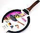 Сковорода блинная Benson BN-528 (24 см) с антипригарным мраморным покрытием | сковородка для блинов Бенсон, фото 4