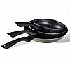 Набор сковородок Edenberg EB-9901 с антипригарным мраморным покрытием 3 предмета