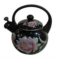 Чайник Edenberg EB-1780 со свистком 2,5 л индукция | Свистящий металлический чайник, фото 1