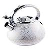 Чайник Edenberg EB-1900 со свистком 3 л | Свистящий металлический чайник