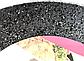 Сковорода Benson BN-541 (22 см) с крышкой, антипригарное гранитное покрытие | сковородка Бенсон, Бэнсон, фото 4