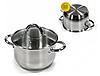Набор посуды Edenberg EB-4001 кастрюли и сковорода из 6 предметов, фото 4