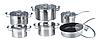 Набір посуду Edenberg EB-4048 каструлі сковорода і ківш з 6 предметів, фото 2
