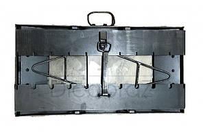 Мангал чемодан толщина 3 мм с двумя столиками на 7 шампуров ( отличный подарок, качественная сборка), фото 3