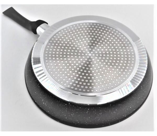 Сковорода с антипригарным гранитным покрытием Benson BN-322 (26 см), SOFT TOUCH,бакелитовая ручка | сковородка