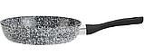 Сковорода с антипригарным гранитным покрытием Benson BN-322 (26 см), SOFT TOUCH,бакелитовая ручка | сковородка, фото 2