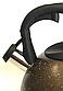 Чайник со свистком Benson BN-716 (2.8 л) из нержавеющей стали, нейлоновая ручка, дно 7 слоев   чайник Бенсон, фото 2