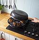 Сковорода гриль-газ Benson BN-803 с мраморным антипригарным покрытием | сковородка для гриля на газу Бенсон, фото 2