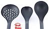 Кухонный набор из 7 предметов Benson BN-460   лопатка   ложка для спагетти   половник   шумовка