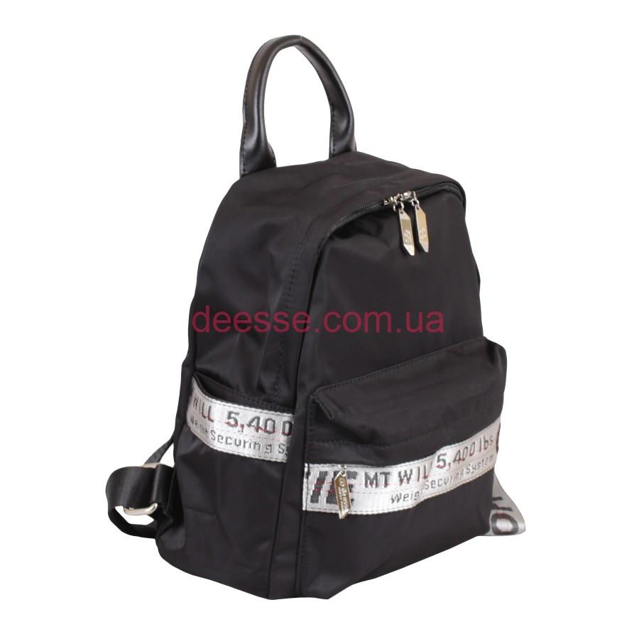 Рюкзак de esse черный