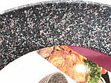 Сковорода Benson BN-531 (26 см) антипригарное гранитное покрытие, SOFT TOUCH   сковородка Бенсон, Бэнсон, фото 3