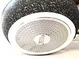 Сковорода Benson BN-531 (26 см) антипригарное гранитное покрытие, SOFT TOUCH   сковородка Бенсон, Бэнсон, фото 5