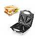 Сэндвичница гриль AURORA AU-326 3в1 750Вт | Бутербродница | Тостер, фото 4