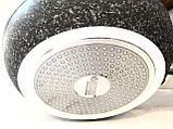 Сковорода Benson BN-534 (24 см) антипригарное гранитное покрытие, SOFT TOUCH   сковородка Бенсон, Бэнсон, фото 5