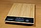 Кухонные электронные весы MATARIX MX-406 Wood до 5 кг с LED-дисплеем, фото 3
