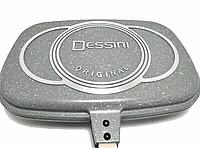 Сковорода - гриль двойная Benson BN-556 (гранитное покрытие)   сковородка Бенсон, сковорода Бэнсон, фото 1