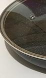 Сковорода Benson BN-559 (28 см) з мармуровим антипригарним покриттям, з кришкою   сковорідка Бенсон, Бэнсон, фото 4