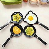 Міні сковорода млинна Benson BN-564 Зірка з антипригарним покриттям | сковорідка для млинців, омлету Бенсон, фото 2