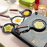 Міні сковорода млинна Benson BN-564 Зірка з антипригарним покриттям | сковорідка для млинців, омлету Бенсон, фото 4