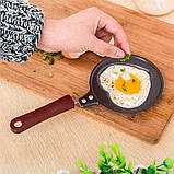 Міні сковорода млинна Benson BN-564 Зірка з антипригарним покриттям | сковорідка для млинців, омлету Бенсон, фото 6