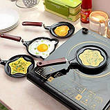 Міні сковорода млинна Benson BN-564 Яблуко з антипригарним покриттям   сковорідка для млинців, омлету Бенсон, фото 4
