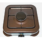 Газова плита DOMOTEC MS-6601 коричнева 1кф   газплити таганок настільна, фото 3