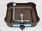 Газова плита DOMOTEC MS-6601 коричнева 1кф   газплити таганок настільна, фото 5