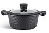 Набор посуды Edenberg EB-9186 из 10 предметов казаны сковорода и ковш мраморное покрытие, фото 3