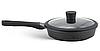 Набор посуды Edenberg EB-9186 из 10 предметов казаны сковорода и ковш мраморное покрытие, фото 4
