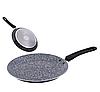 Сковорода млинна Edenberg EB-3389 з антипригарним гранітним покриттям 24 см, фото 2