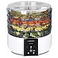 Сушилка для овощей и фруктов AURORA AU-3371 электрическая | сушка для сухофруктов, фото 2