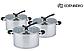 Набор кастрюль Edenberg EB-3711 из 3 предметов из нержавеющей стали, фото 4
