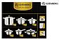 Набор посуды Edenberg EB-4010 кастрюли сотейник и ковш из 6 предметов, фото 3