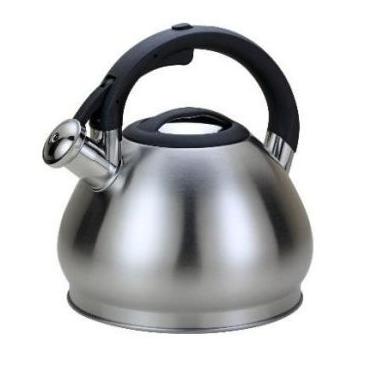 Чайник Edenberg EB-1974 зі свистком з нержавіючої сталі 3,5 л індукція   Свистячий металевий чайник